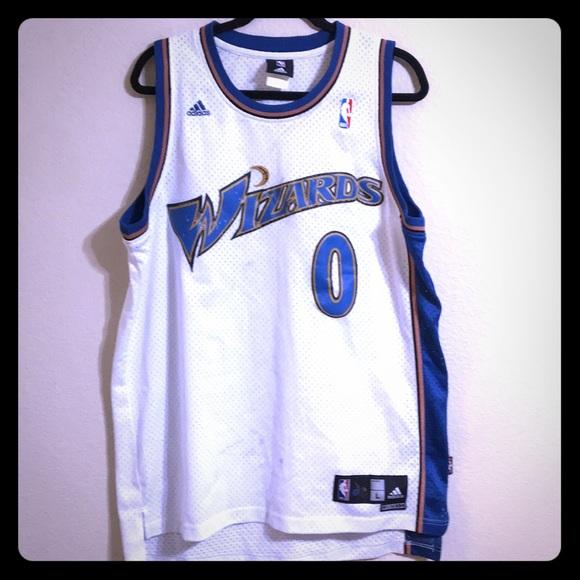de7f21003 adidas Other - Adidas Washington Wizards Gilbert Arenas Jersey